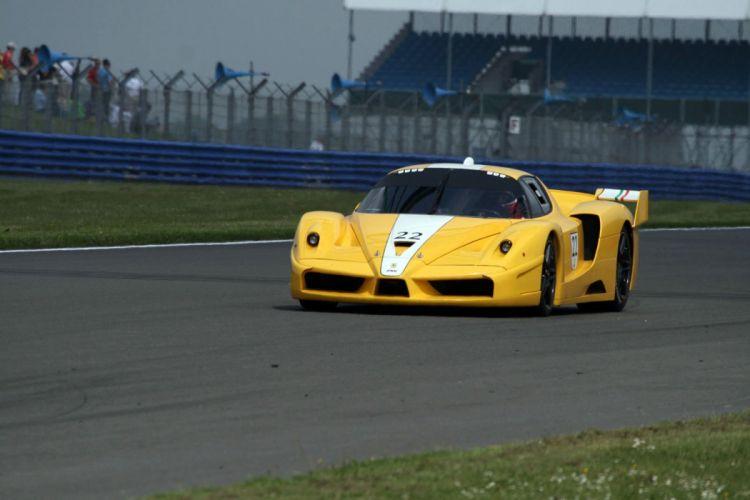 Ferrari FXX enzo racecars supercars cars race italia yellow jaune wallpaper
