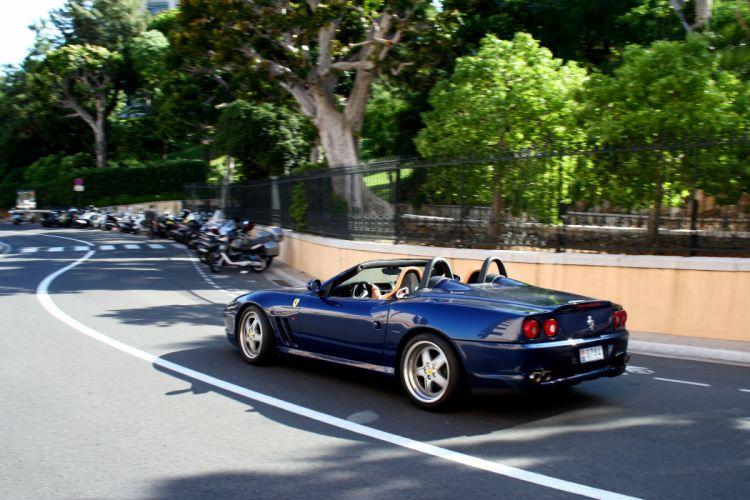 Ferrari 550 Barchetta convertible cars italia wallpaper