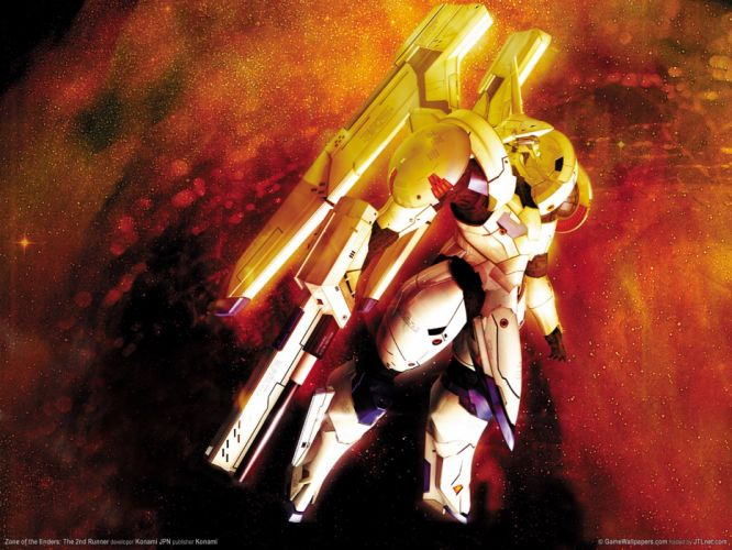 ZONE OF THE ENDERS ZOE sci-fi action mecha fighting wallpaper