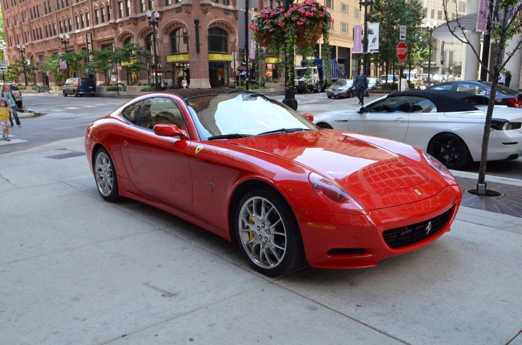 Ferrari 612 Scaglietti 2+2 cars supercars red wallpaper