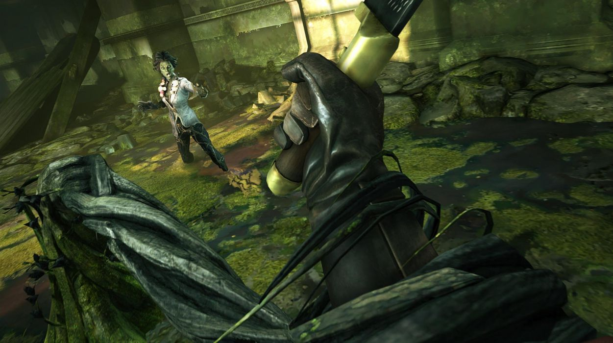DISHONORED BRIGMORE WITCHES assassin action sci-fi witch stealth adventure dark wallpaper
