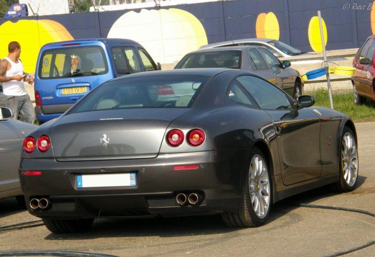 Ferrari 612 Scaglietti 2+2 cars supercars grey gris grigio wallpaper