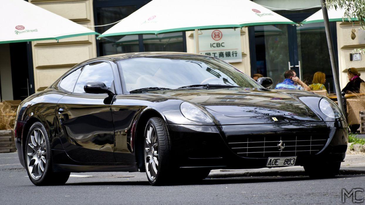 Ferrari 612 Scaglietti 22 Cars Supercars Black Noir Nero