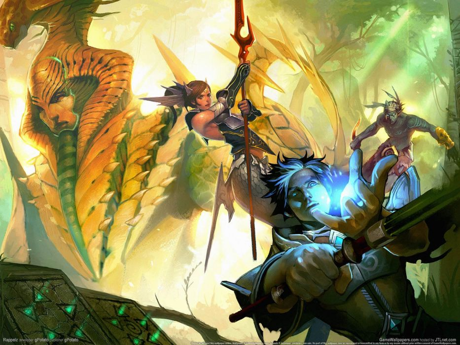 RAPPELZ-ONLINE mmo rpg fantasy medieval RAPPELZ online wallpaper