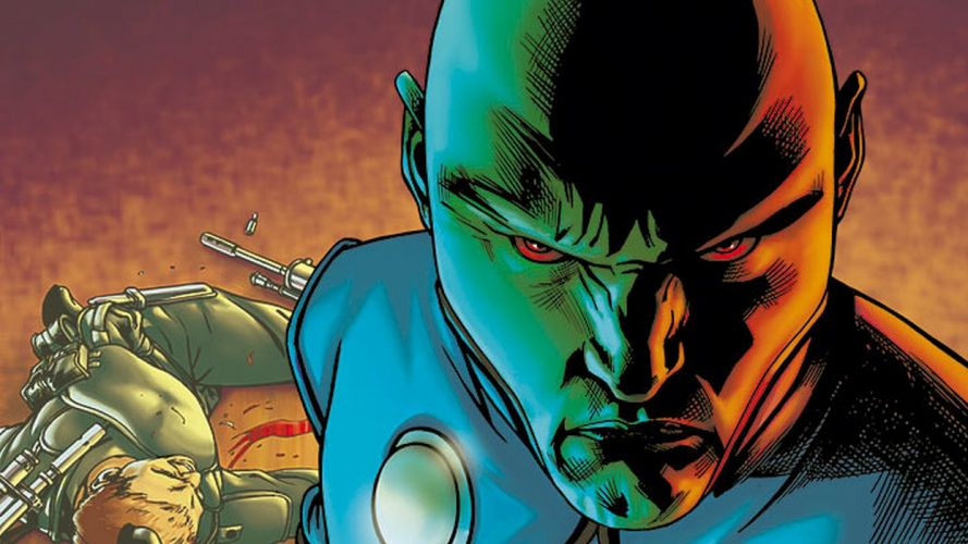 MARTIAN MANHUNTER superhero d-c dc-comics alien sci-fi wallpaper