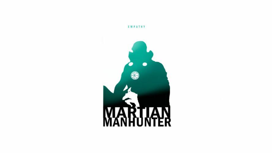 MARTIAN MANHUNTER superhero d-c dc-comics alien sci-fi wallpaper