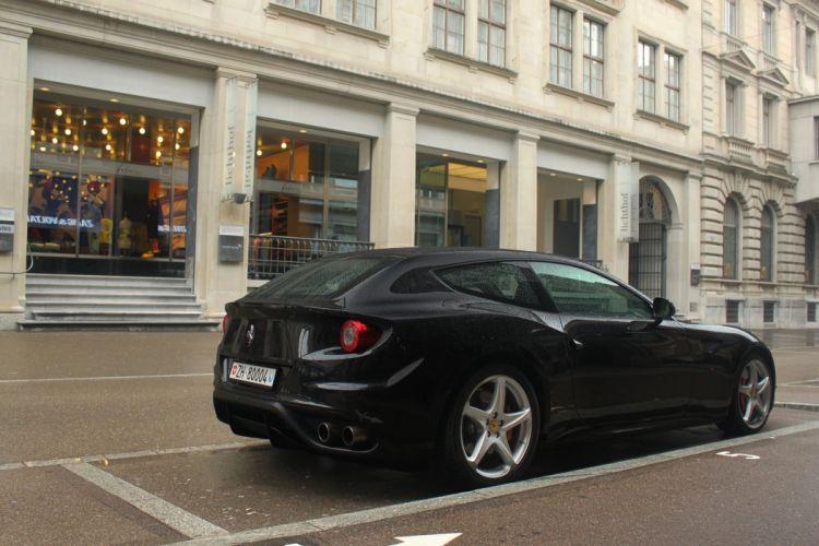 ferrari Ferrari FF FF 2+2 coupe supercars cars italia noir black wallpaper