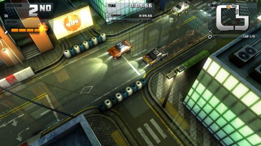 Mini Motor Racing EVO game video android ios mac pc arcade racing cars funy wallpaper