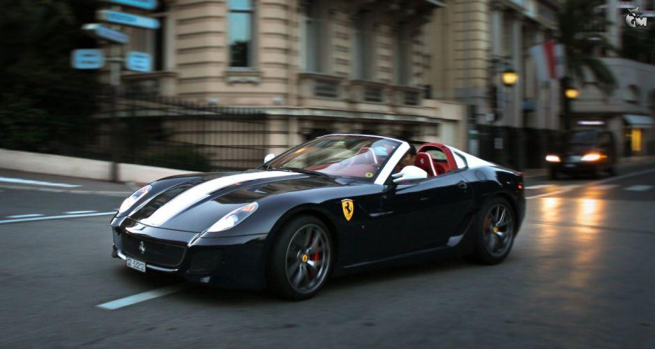 Ferrari SA Aperta 599 coupe targa supercars cars italia wallpaper