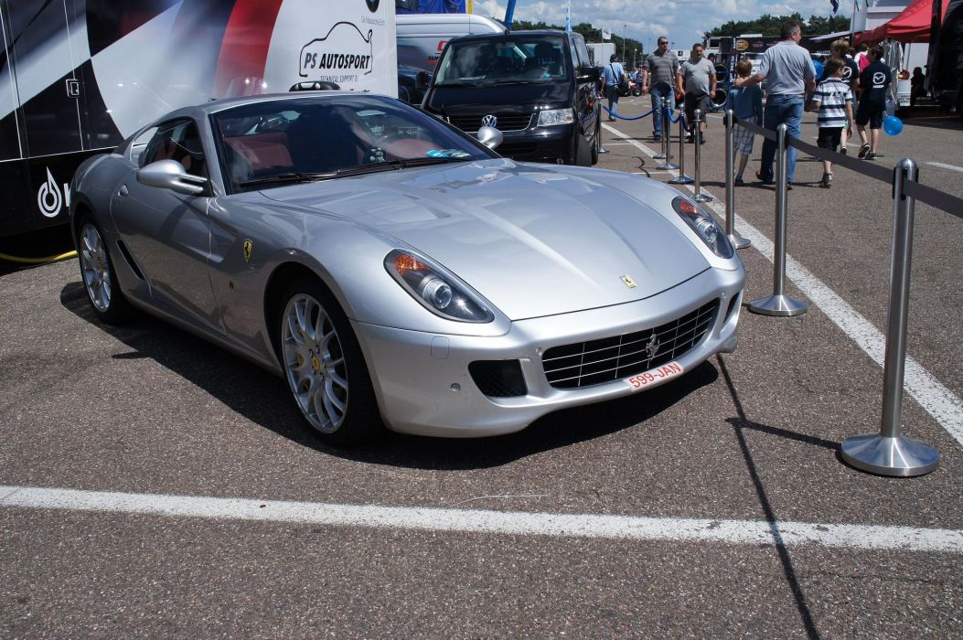 ferrari 599 gtb fiorano coupe cars supercars italia gris grey wallpaper
