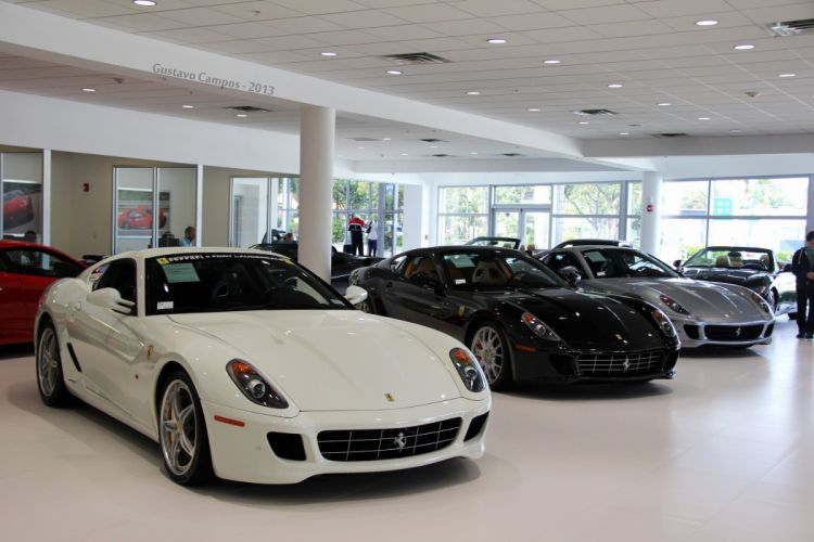 ferrari 599 gtb fiorano coupe cars supercars italia blanc white wallpaper