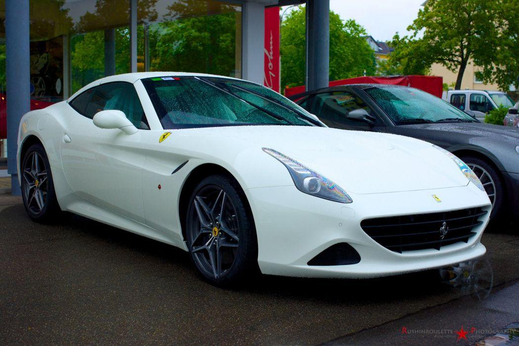 Ferrari California convertible supercars cars cabriolet italia blanc white wallpaper