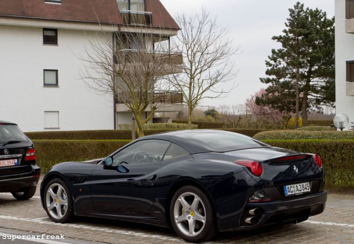 Ferrari California convertible supercars cars cabriolet italia black noir nero wallpaper