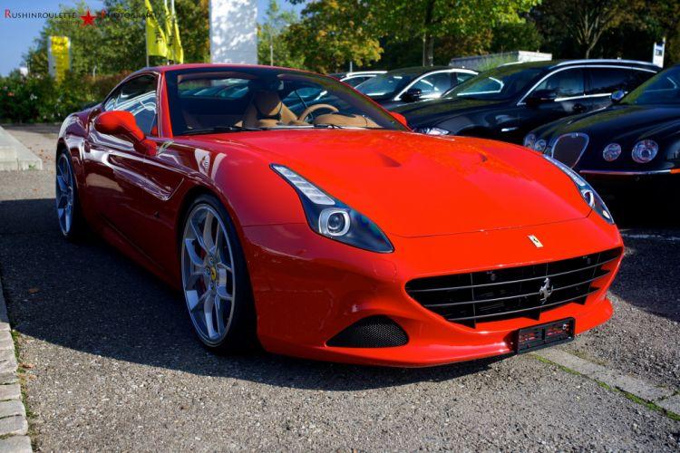 Ferrari California convertible supercars cars cabriolet italia red rouge rosso wallpaper