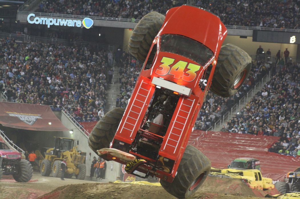 MONSTER-TRUCK 4x4 offroad race racing monster truck hot rod rods wallpaper