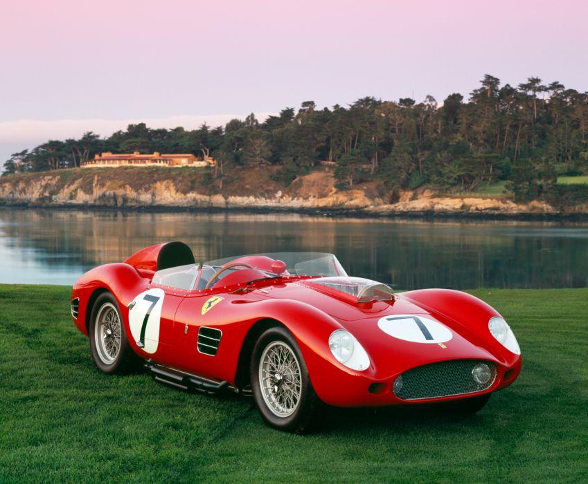 1959 Ferrari 250 TR59 race racing supercar retro wallpaper