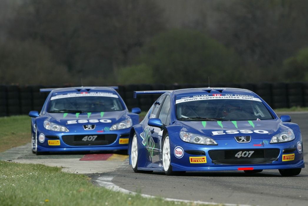 2005 Peugeot 407 La-Super-Serie FFSA race racing wallpaper