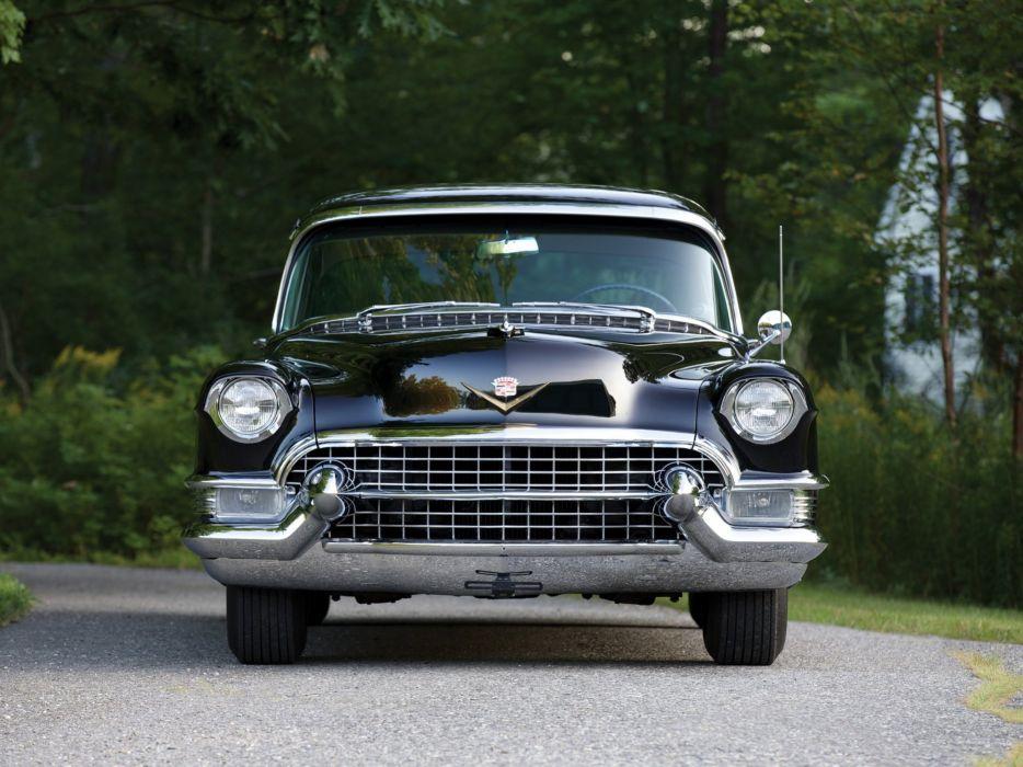 1955 Cadillac Sixty-Two Sedan luxury retro wallpaper