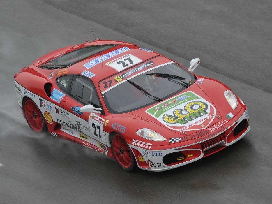 2005-09 Ferrari F430 Challenge supercar race racing wallpaper
