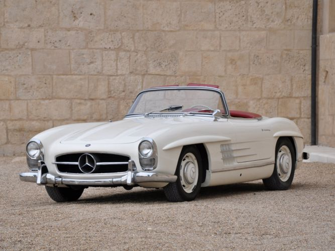 1957-63 Mercedes Benz 300SL US-spec W198 -II w198 300 wallpaper