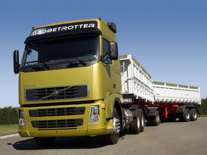 2005 Volvo F-H 520 6x2 semi tractor wallpaper