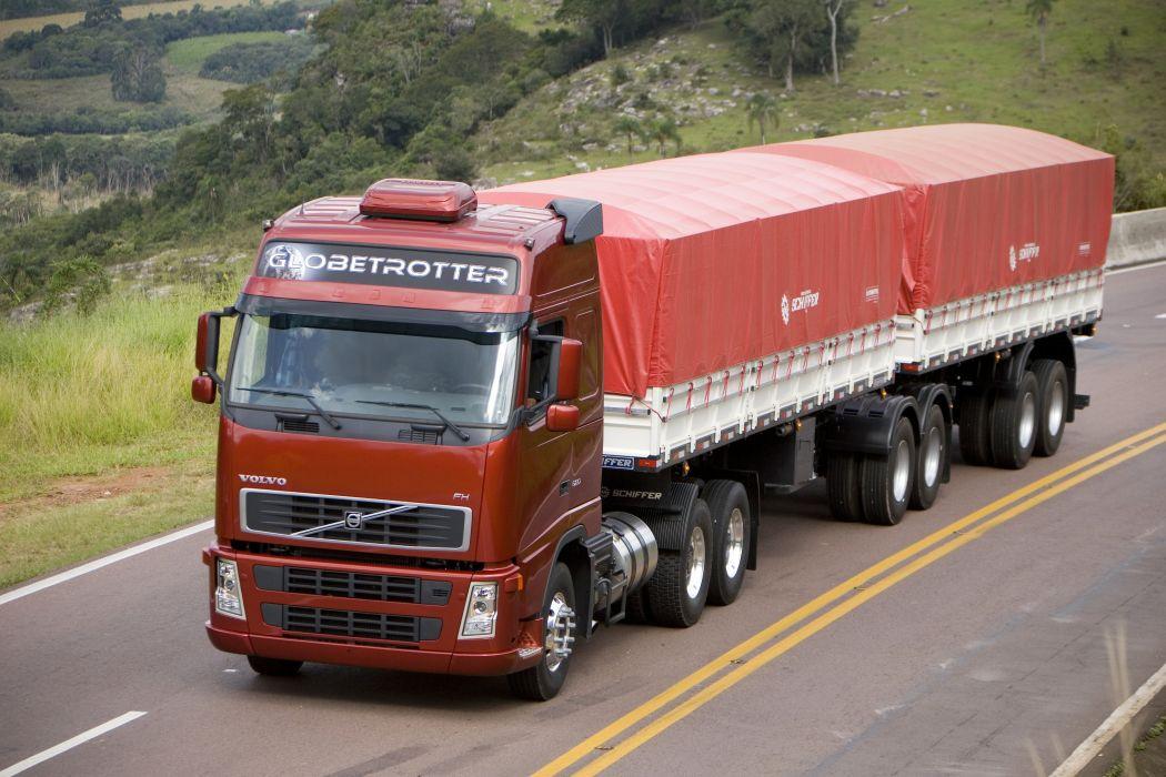 2005 Volvo F-H 520 6x2 semi tractor wallpaper