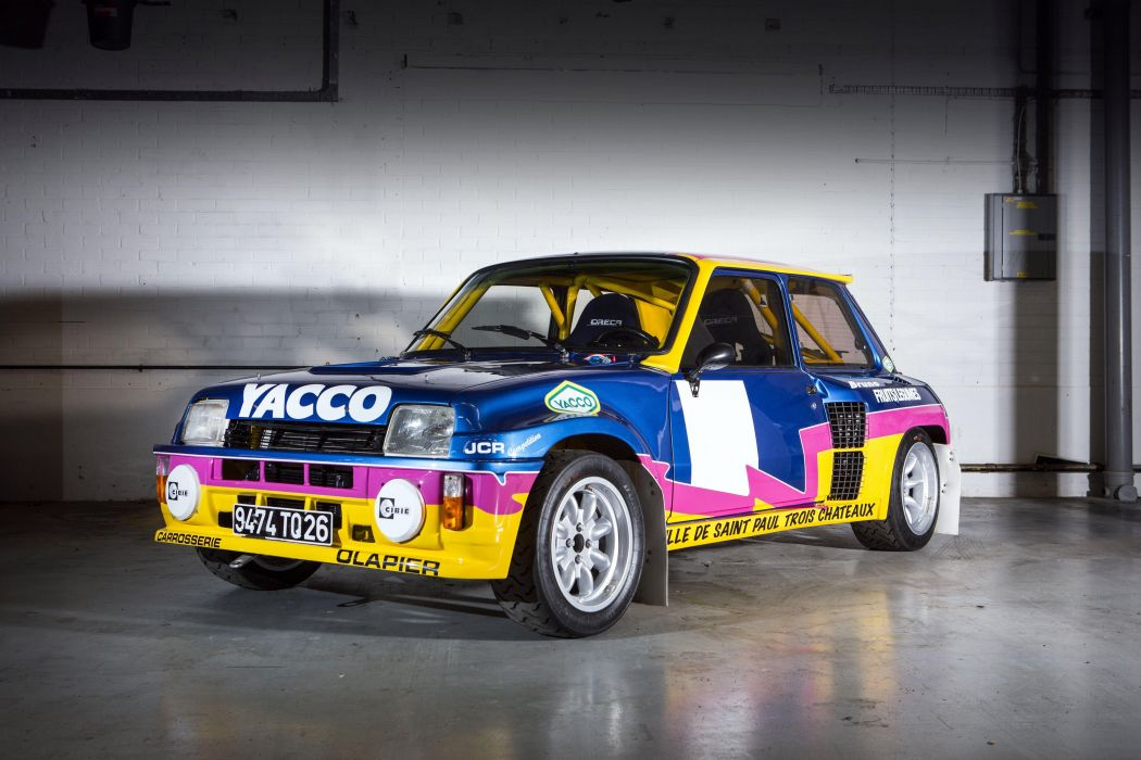 1983 Renault 5 Turbo Tour-de-Corse race racing wrc Renault-5 wallpaper