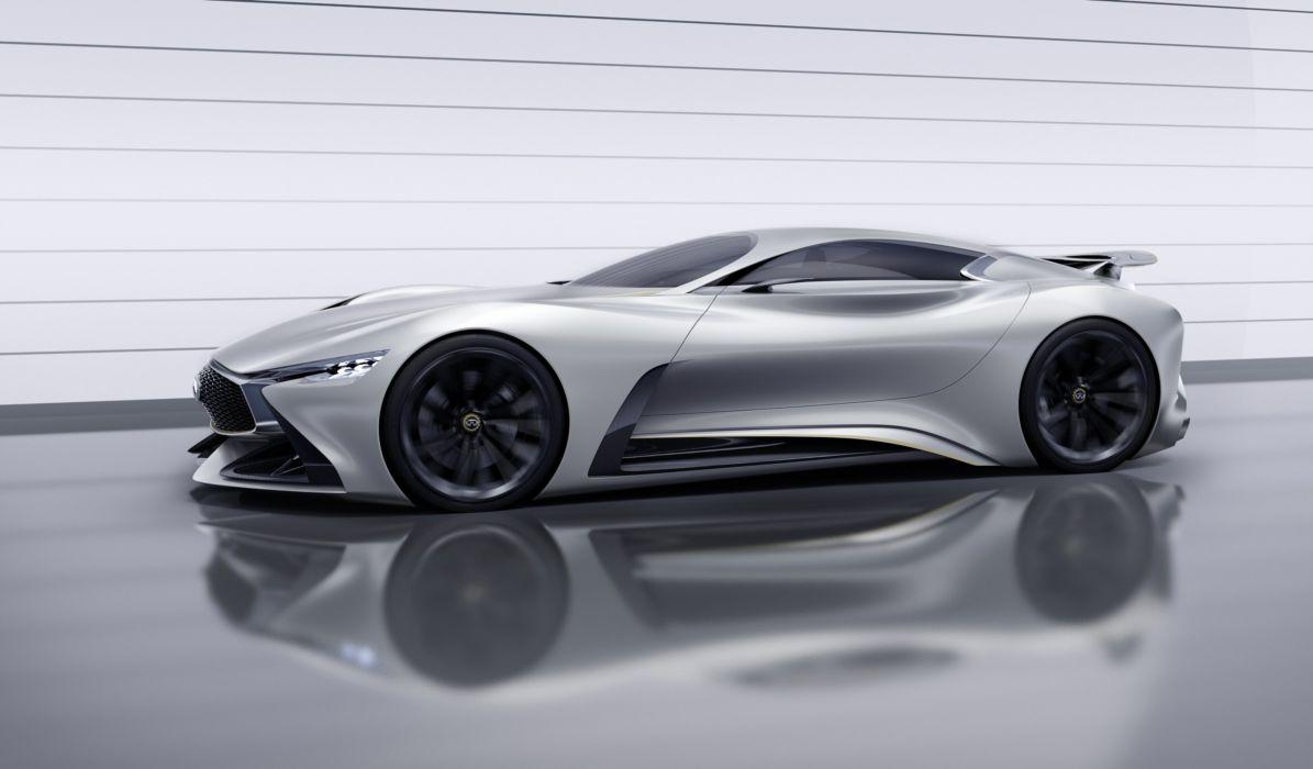 2014 Infiniti Vision Gran Turismo Concept supercar wallpaper