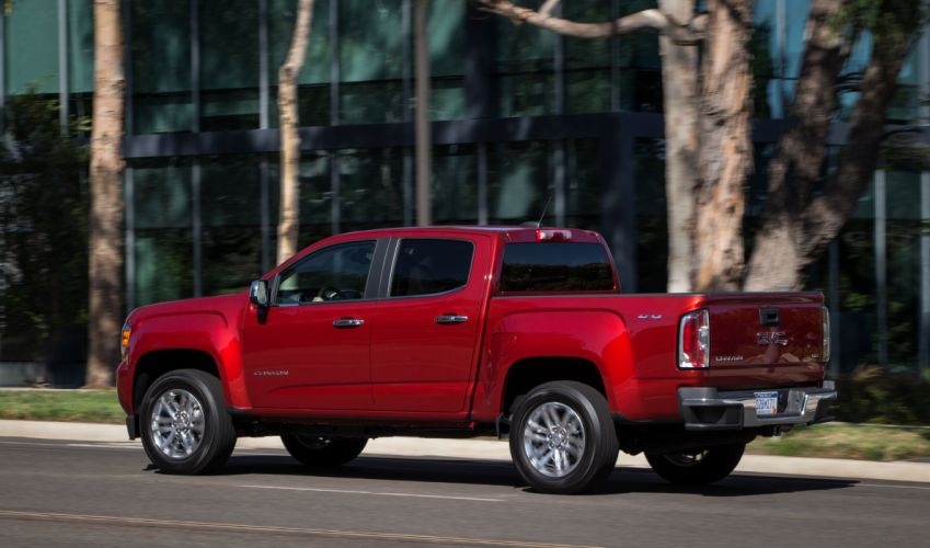 2015 GMC Canyon SLT Crew Cab pickup wallpaper