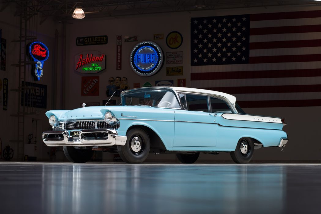1957 Mercury Monterey 2-door Sedan 64A retro wallpaper
