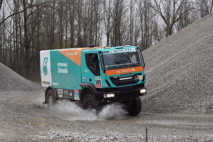 2014 Iveco Trakker Evolution-IV 4x4 dakar semi tractor race racing offroad Evolution wallpaper