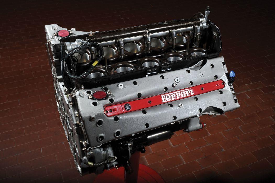 Engine Ferrari Tipo 0462 supercar wallpaper
