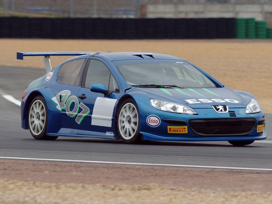2005 Peugeot 407 Silhouette race racing wallpaper