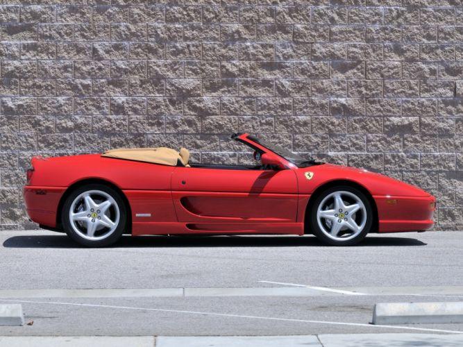 1995-99 Ferrari F355 Spider US-spec supercar wallpaper
