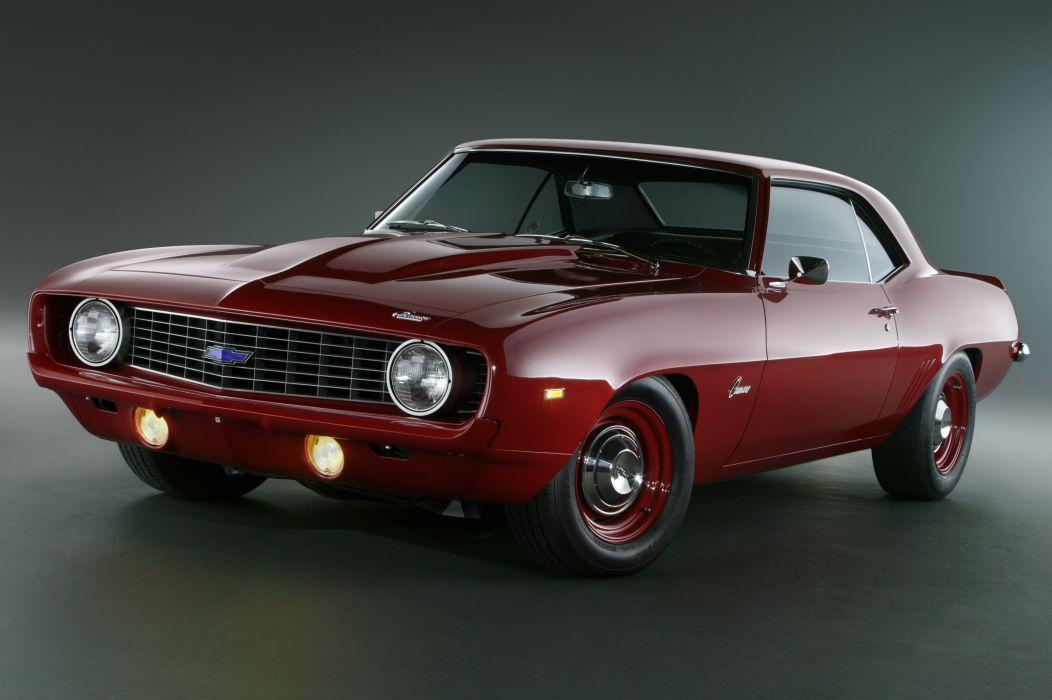 1969 Chevrolet Camaro L72 427 425HP COPO muscle classic wallpaper