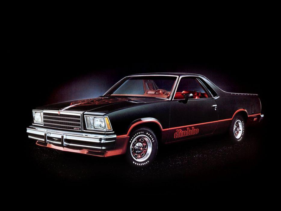 1979 GMC Caballero Diablo Sedan Pickup wallpaper