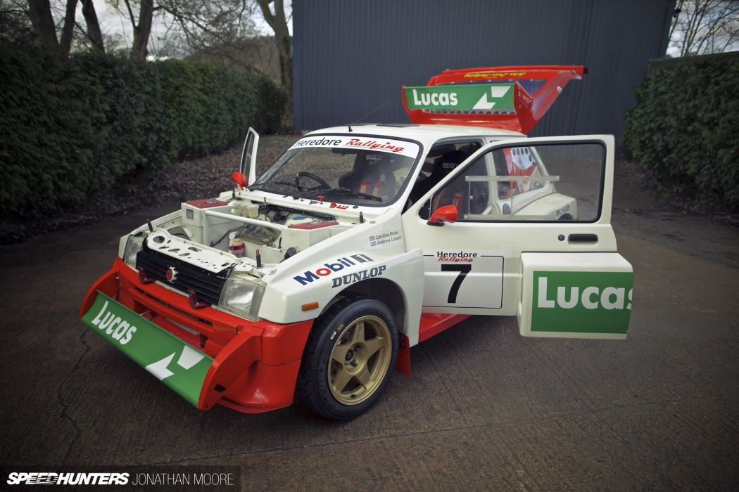 Austin Rover Metro 6R4 Group-B rally race racing wallpaper ...