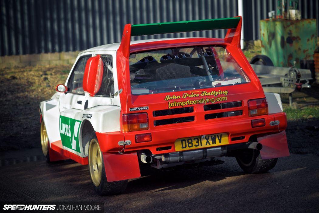Austin Rover Metro 6R4 Group-B rally race racing wallpaper ...