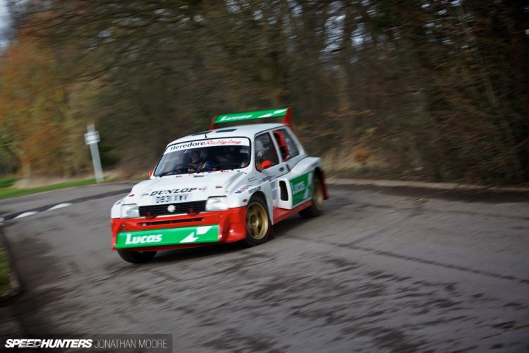 Austin Rover Metro 6R4 Group-B rally race racing wallpaper