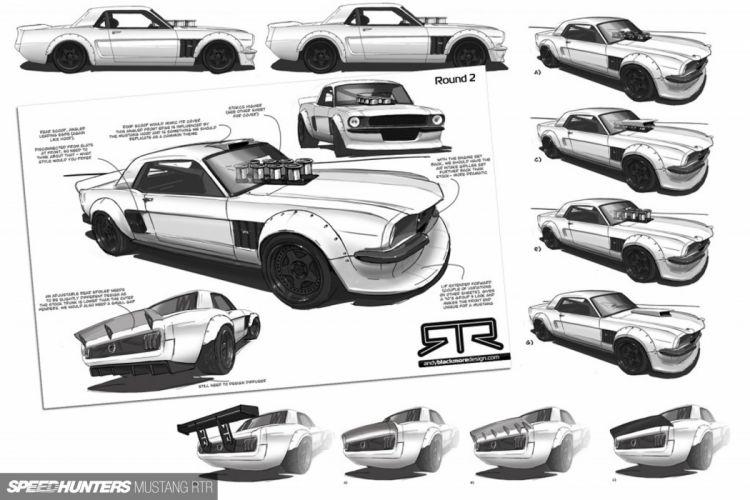Hoonicorn RTR Ford Mustang drift race racing hot rod rods monster wallpaper