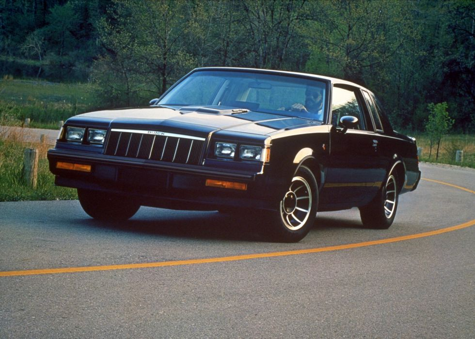 1987 Buick Regal Grand National muscle wallpaper