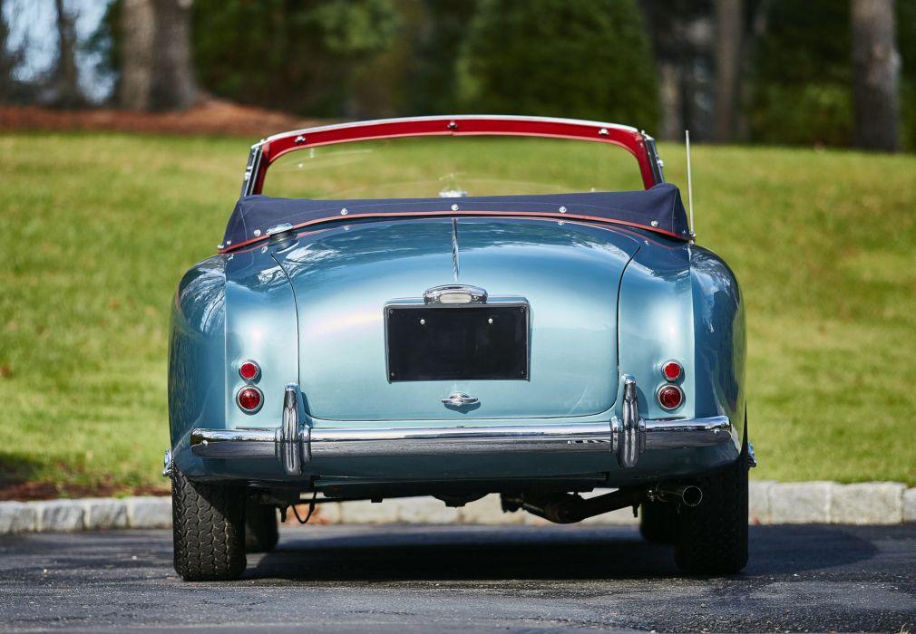 1955 Aston Martin DB24 Drophead Coupe Mulliner MkII retro wallpaper