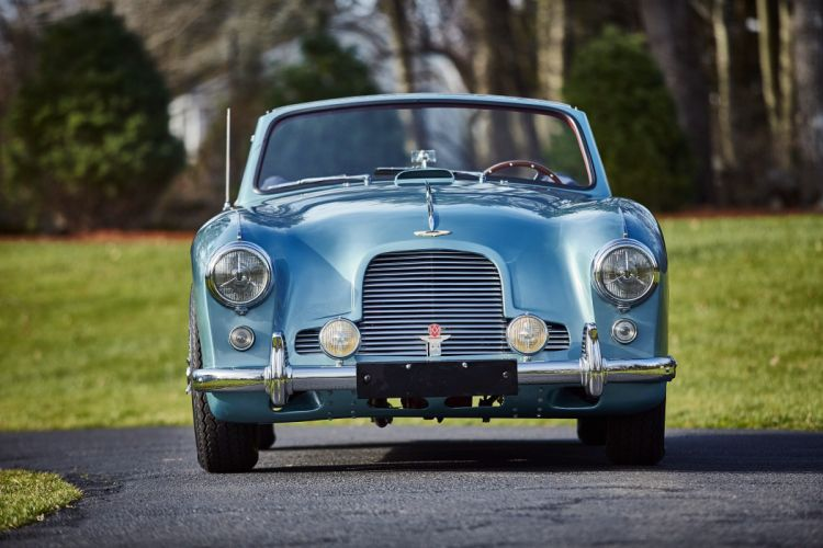 1955 Aston Martin DB24 Drophead Coupe Mulliner MkII retro wallpaper