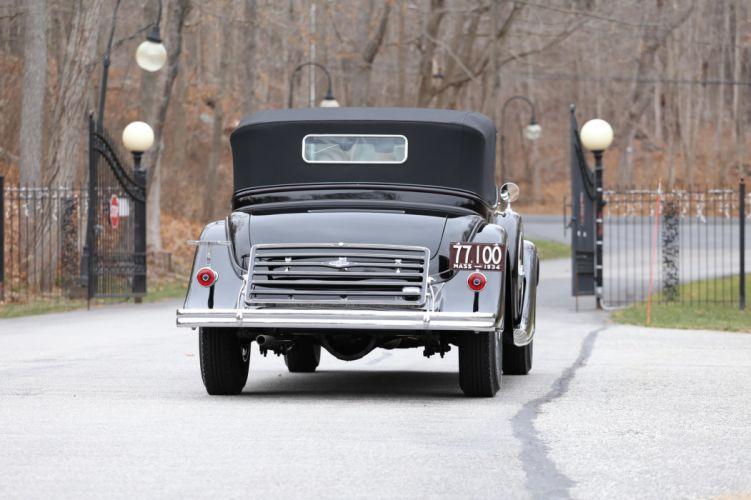 1934 Lincoln Model-KB Convertible Victoria Brunn 271-280 retro luxury wallpaper