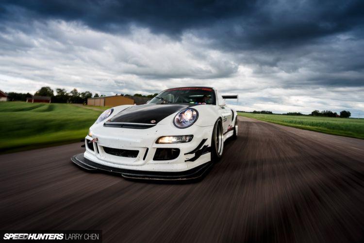 Porsche 996 turbo tuning race racing wallpaper