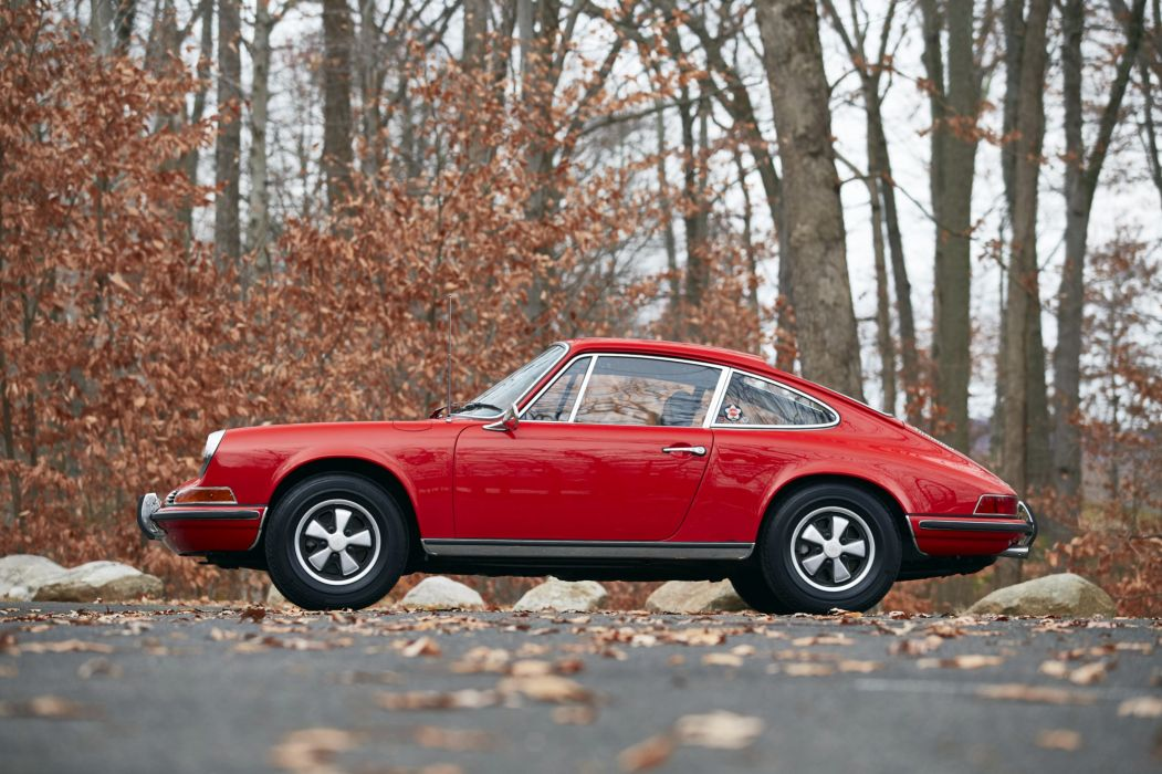 1971 Porsche 911 T 2-2 Coupe US-spec 911 classic wallpaper
