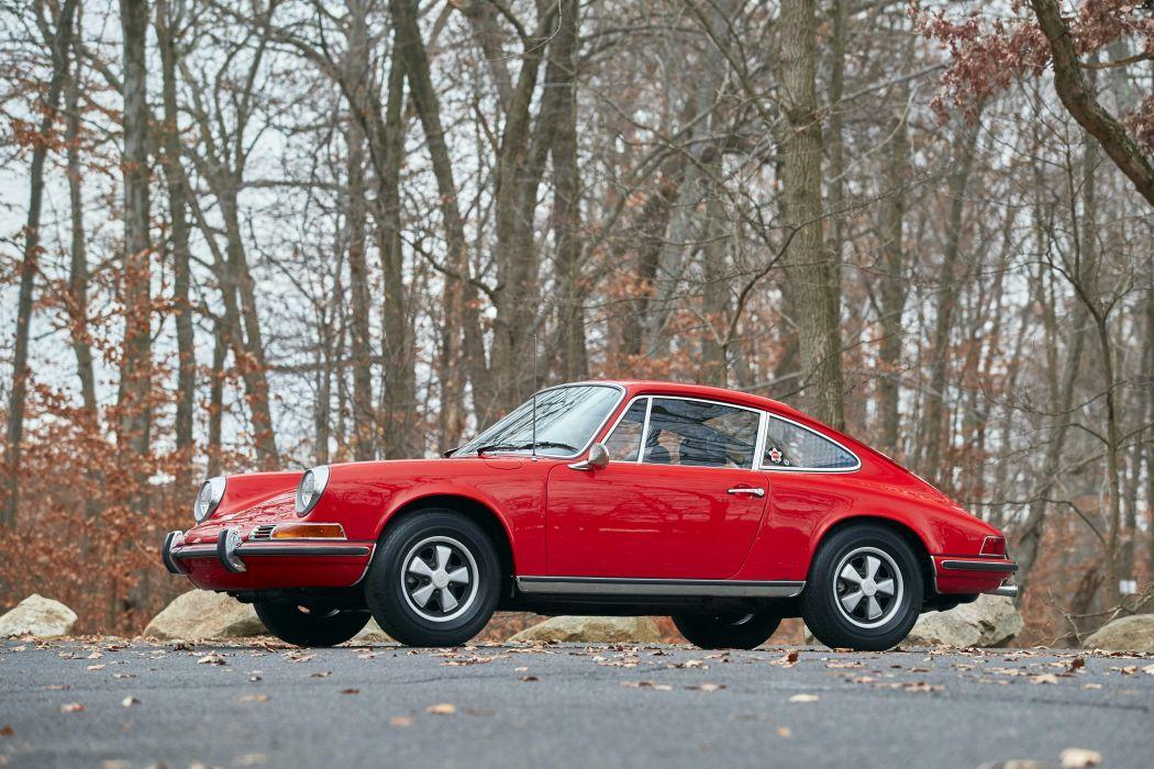 1971 Porsche 911 T 2-2 Coupe US-spec 911 classic wallpaper