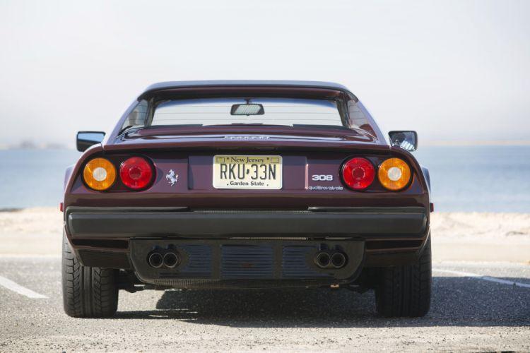 1982 Ferrari 308 GTS Quattrovalvole US-spec supercar wallpaper