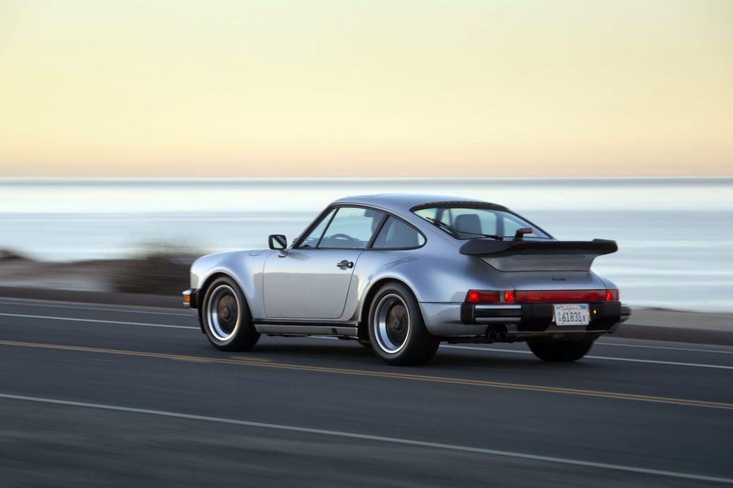 1987 Porsche 911 Turbo 3-3 Coupe US-spec 930 supercar wallpaper