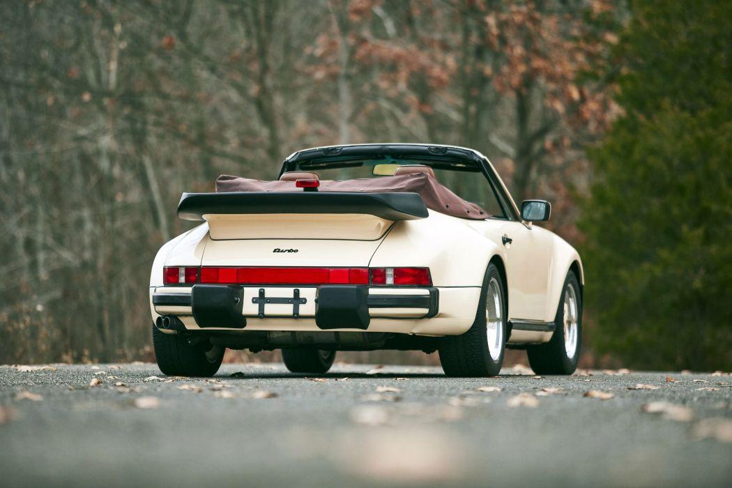1986 Porsche 911 Turbo 3-3 Cabriolet US-spec 930 wallpaper
